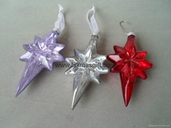 2015 Wholesale Eight Star Christmas Decorations Made In China