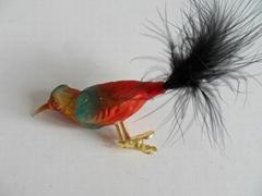 2015 Hot Sale Big Glass Bird Ornament Made In China