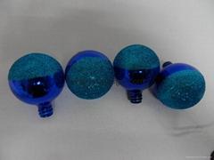 Luxury Glass Christmas Ball Christmas Craft Christmas Glass Ball With Glitter