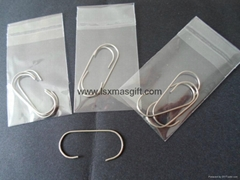 Christmas Tree Metal Ornament Hooks