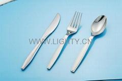 Plastic Silver Cutlery