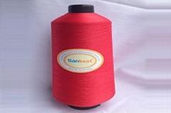 100% Polyester Textured Over-lock Thread