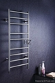 wall mounted stainless steel electric heated towel rail 1