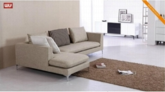 Farbric Corner Sofa Couch Lounge Suite