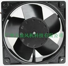 立盈轴流风机12038金属散热风扇