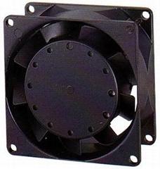 廠家供應小型全金屬軸流散熱風扇8038耐高溫liying風機