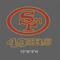 Iron On San Francisco Giants &49er