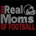 the real Football Mom Rhinestone