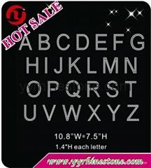 alphabet - style2 - Rhinestone Transfer