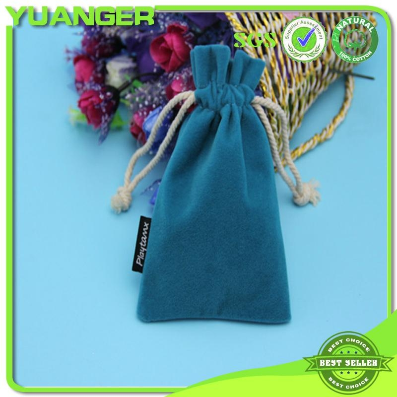 2014 China Mini Necklace Jewelry Custom Ve  et Drawstring Nurses Pouch Bag Manuf 4