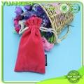 2014 China Mini Necklace Jewelry Custom Ve  et Drawstring Nurses Pouch Bag Manuf 3