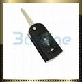Mazda 3 button foldable flip key shell