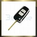 Hyundai Elantra 2 button car key shell