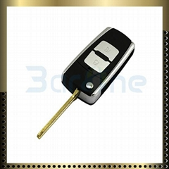 Hyundai Elantra 2 button car key shell