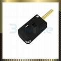 Key shell for mini-model Lexus with 2 button 1