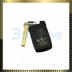 3 button car key shell for BMW
