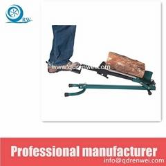 manpower Foot Operate Log Splitter US Patented