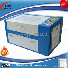 2014 new product hot sale cheap 30w co2 mini laser engraving machine KL-460