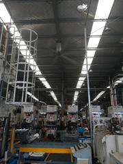 倉庫車間用工業大吊扇一台就管用1000平方米