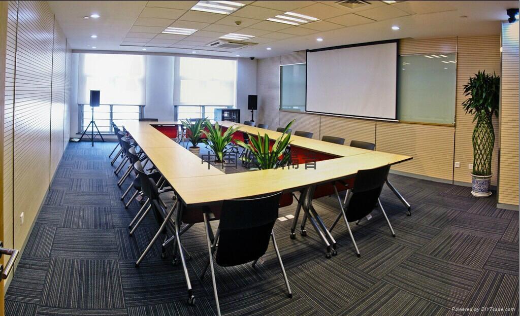 槽木吸音板 会议室吸音装饰材料 3