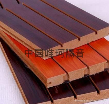 槽木吸音板 会议室吸音装饰材料 5