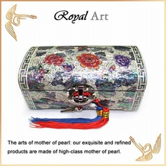 Luxury Jewelry Box with Mother of pearl inlaid; CL-509