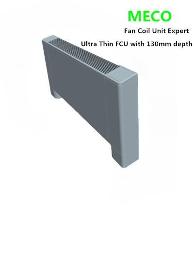 Floor Stand Amp Ceiling Ultra Thin Fan Coil Unit With 130mm