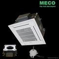 Quiet cool and Energy-saving DC motor cassette fan coil unit 2