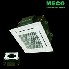 Compact Multi Flow Ceiling Mounted Cassette fan coil unit