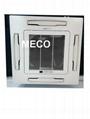 Cassette fan coil unit with ISO/CE