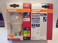 欧司朗10W LED球泡 827/865 E27
