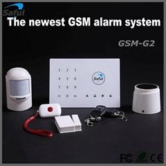 Android/ IOS APP remote control intelligent  wireless home burglar alarm