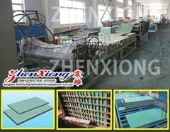 Plastic building templates production line(PP/PE/PPR)