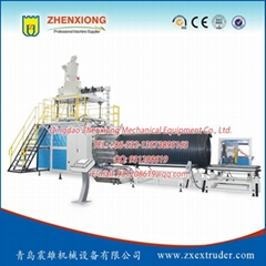 HDPE Plactic Pipe Prodcution Line
