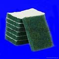 3M8698背絨圓形方形工業百潔布 1