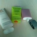 OEM oval tube cosmetic packaging