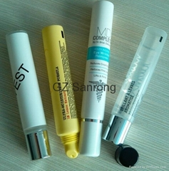 8-10g lip gloss lip stick plastic tube for cosmetic packaging