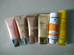 30g oval BB cream tube for cosmetic packaging