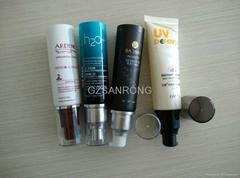 15ml pump cap tube cosmetic packaging