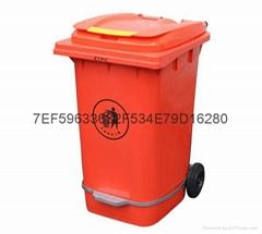宜宾屏山县240L塑料垃圾桶