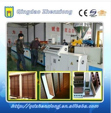 WPC profile production line 2