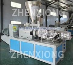 PVC agriculture layflat hose extrusion line