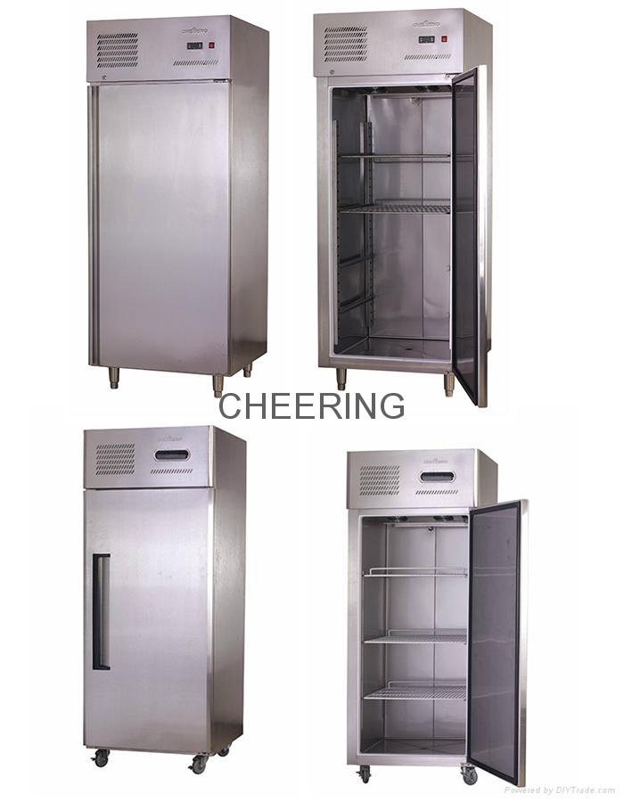 Refrigeration equipment single door commercial kitchen refrigerator ...