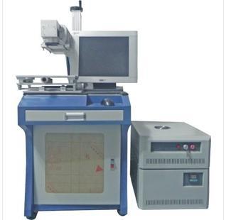 橡胶透光件打标的端面泵浦激光打标机 2