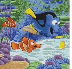 海底世界拼圖馬賽克