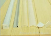 LED aluminum profiles for LED strips 16*16mm for PCB width 10mm