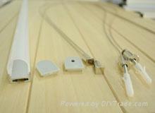 led pendant light profile&aluminum profile for LED strips or led rigid bars