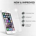 iloome iphone 6  5.5寸(黑色 真正9H优质 钢化玻璃保护膜 3
