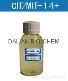 isothiazolinone CMIT MIT 14%  used in industrial cooling water treatment  1