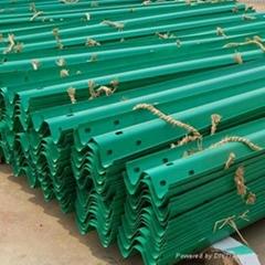 Three Waves Galvanized Steel Highway Guardrail